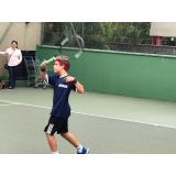 quanto custa aula de tênis infantil Jardim Guedala