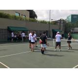 quanto custa escola de tênis com professor Pompéia