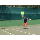 quanto custa escola de tênis individual Raposo Tavares