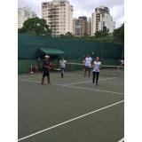 quanto custa quadra de tênis para aluguel Campo Belo